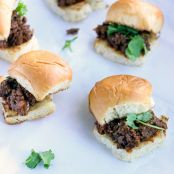 Indian Sloppy Joes