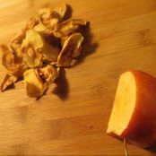 Dehydrator dried Apples & Cinnamon