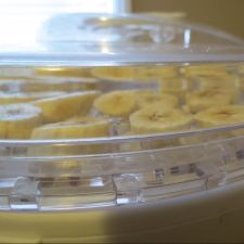 Dehydrator dried Banana