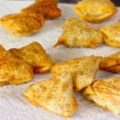 Beef Samosas with green chutney