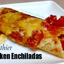 Healthier Chicken Enchiladas
