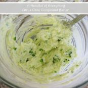 Citrus Chile Compound Butter