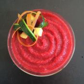 Beet, Carrots , Potatoes , Zucchini and Chicken Purée (9 months +) - Step 1