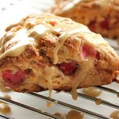 Maple-Glazed Bacon Apple Scones