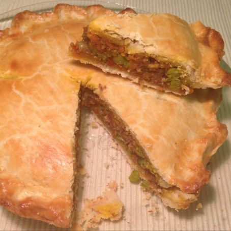 Out of this world okra meat pie!