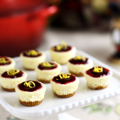 Two-Bite Mini Cheesecakes