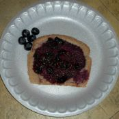 Instant Blueberry Preserves On Rye