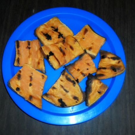 Grilled Yam Delights