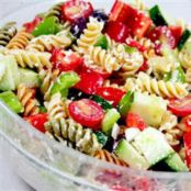 Tasty Greek Pasta Salad