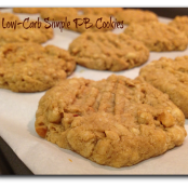 Low-Carb Simple PB Cookies
