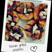 tuscan grilled peaches