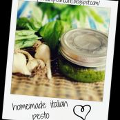 homemade italian pesto