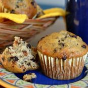 Daddys Favourite Banana Chocolate Chip Muffins