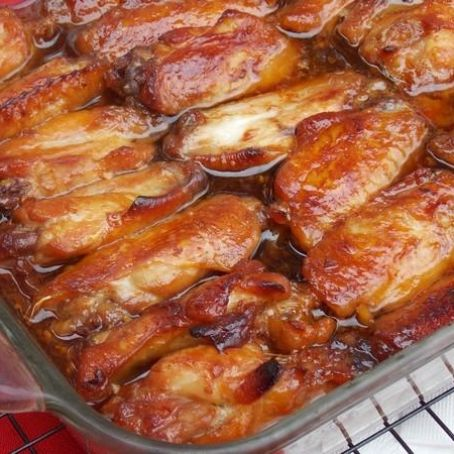 Caramelized Baked Chicken Wings And Legs Recipe 3 6 5