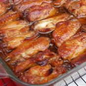 Caramelized Baked Chicken Wings and Legs