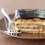 No Bake Boston Cream Pie