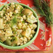 Potato And Grilled Corn Salad