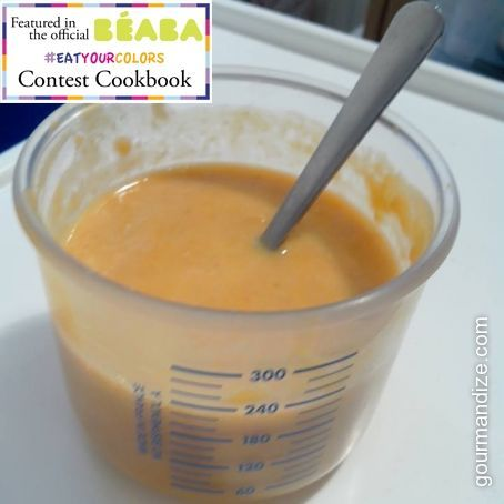 Pumpkin Polenta Puree