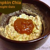 Pumpkin Chia Overnight Oats