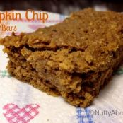 Pumpkin Chip Protein Bars