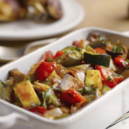 Classic French Ratatouille with Ground Beef