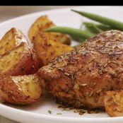 Rosemary Baked Chicken with Potatoes Recipe