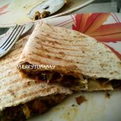 Vegetarian Grilled Quesadilla
