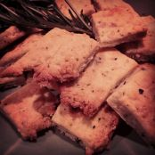Rosemary Wine Crackers