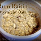 Rum Raisin Overnight Oats