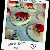 russian deviled eggs