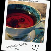 homemade russian tea