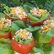 Paula'S Tomatoes stuffed with Chicken Salad