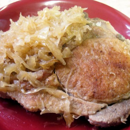 Sauerkraut Pork Chops Recipe - (3.8/5)