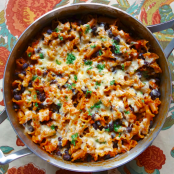 Spicy Chicken Enchilada Pasta
