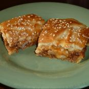 Baked Sloppy Joe Squares