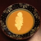 Butternut Squash and Apple Bisque