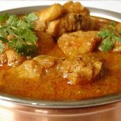 Spicy Chicken Curry with Cashews