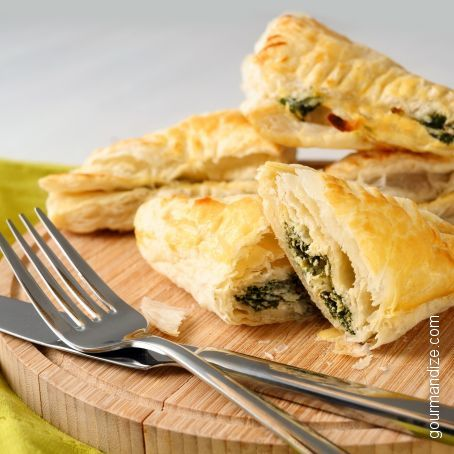 Kronk's Spinach Puffs (inspired by The Emperor's New Groove)