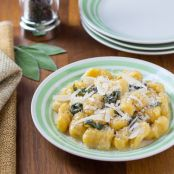 Squash Gnocchi With Sage Butter