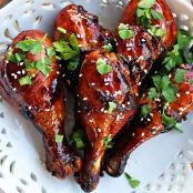 Sweet Spicy-Crisp Honey Teriyaki Hot Wings