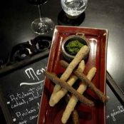Breadsticks with Parsley Pesto Recipe