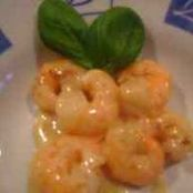 Shrimp à l'orange