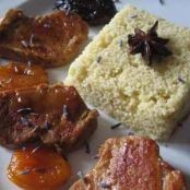 Pork tenderloin with Dried Fruit and Lavender