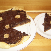 Chocolate and Walnut Pie