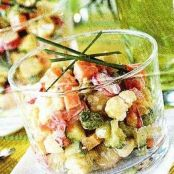 Spring Vegetable tartar