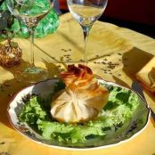 Scallops in phyllo dough