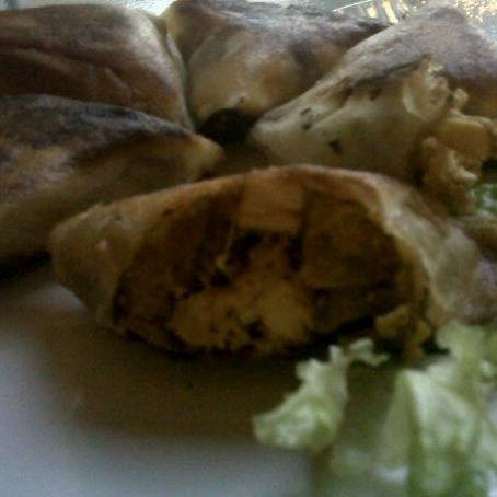 Algerian Bourek Chicken