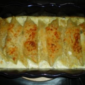 Cannelloni with Goat Cheese