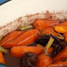 Beef with Carrots in Guinness