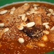 Chicken tagine with apricots, prunes and almonds
